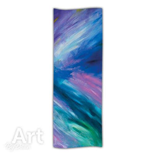 Cashmere sjaals van het schilderij 'Magical Mystery' online bestellen in de webshop