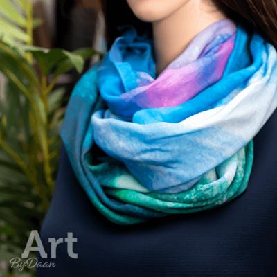 bijzondere en unieke paarse sjaa