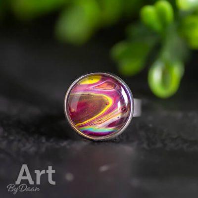 Kleurrijke ringen