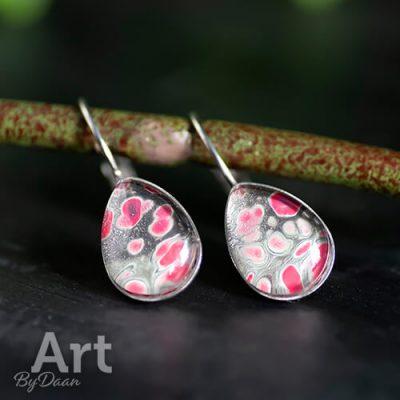 oorbellen-hangers-druppel-groen-met-roze3.jpg