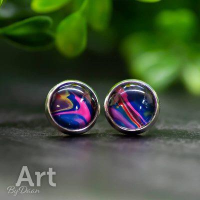 Kleurrijke oorbellen