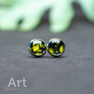oorknopjes-021-10mm-geel-zwart-handgemaakt.jpg